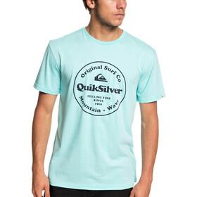 Quiksilver Secret Ingredient Camiseta Manga Corta Hombre, aqua splash